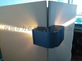 LED 直角 曲向灯 墙角灯 转角灯 6W 全彩DMX 512 RGB