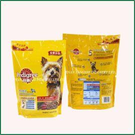 厂家供应各类宠物食品包装袋 鸟食包装袋 自立拉链袋