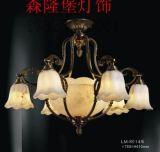 西班牙進口雲石吊燈  歐式復古樹枝形吊燈  歐式貴族水晶吊燈