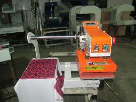 工厂服装压标机/服装logo压标机/烫标机