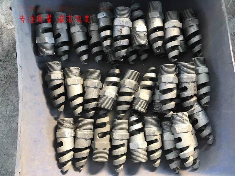 百德机械316L六分螺旋喷嘴碳化硅脱硫喷嘴氧化铝陶瓷喷嘴