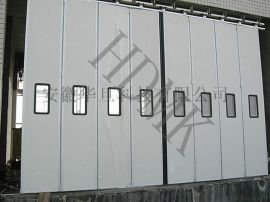 工业折叠门安装,不锈钢保温折叠门,工业折叠电动门