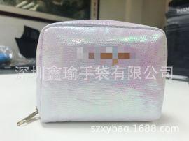 厂家直销新款简约时尚Ins风幻彩化妆收纳包