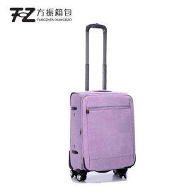 厂家直销万向轮行李箱20寸时尚拉杆箱商务礼品拉杆箱定制可加logo
