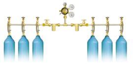 双侧式气体汇流排(8200系列)