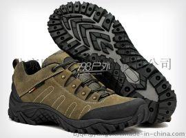 夏季户外登山鞋 男款卡其色