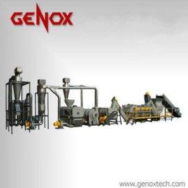 GENOX编织袋回收清洗线/破碎机/撕碎机
