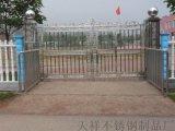 不锈钢栅栏门 白钢栅栏门 白钢门 网格门  户外门 大门 乡村大门