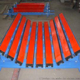 一米皮帶機1.5米的阻燃緩衝牀長度可定制