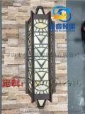 定製酒店歐式壁燈仿雲石壁燈復古壁燈磨砂壁燈