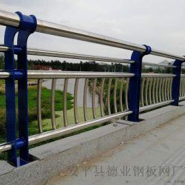 桥梁护栏生产厂家不锈钢河道隔离栏景观铁艺桥梁栏杆