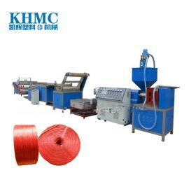 塑料单丝拉丝机,扁丝捆扎绳拉丝机械,绳网拉丝机价格