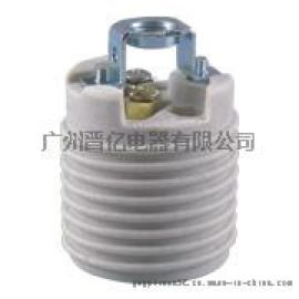 UL美規E26陶瓷螺紋燈座加拿大瓷燈頭SGS環保