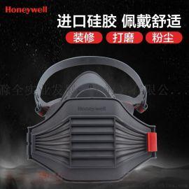 霍尼韦尔防雾霾pm2.5半面罩防尘面具防工业粉尘