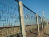 绿色圈山框架护栏网,公路铁路护栏网