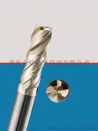 4刃钛合金铣刀圓鼻刀牛鼻刀 不锈钢铣刀圆鼻刀牛鼻刀