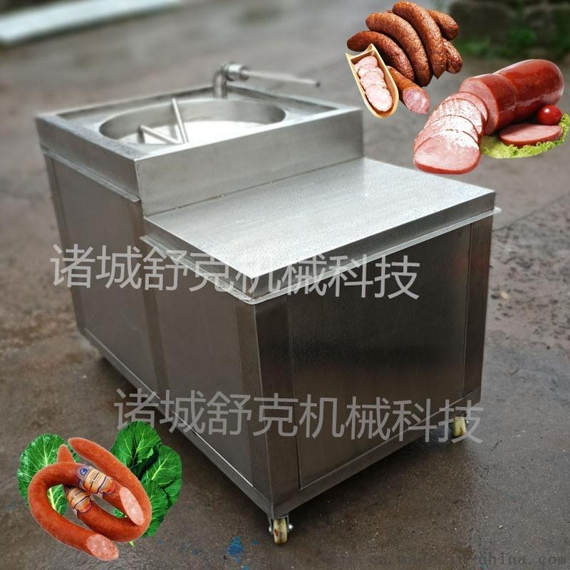 肉泥肠灌肠机型号灌香肠机器