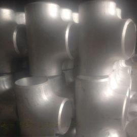 108*5铝三通 5083 5052铝合金三通 等径铝三通