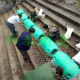 水下垃圾阻挡挂网式拦污浮筒厂家
