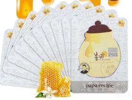杭州地區韓國 春雨面膜 限量版小蜜罐蜂膠面膜 正優品進口面膜批發