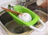 新款淘米篮 创意出口淘米洗菜框 淘米塑料盆