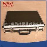 厂家直销铝合金航空金运输箱、防水器材工具箱、手提样品箱