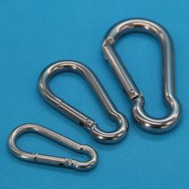 廠家直銷 專業品質304不鏽鋼彈簧扣