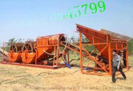 风化砂水轮式洗沙机厂家 工地沙场用沙石分离机