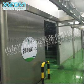 双扇平移不锈钢冷库门 不锈钢冷库平移门厂家 优质冷库门生产厂家