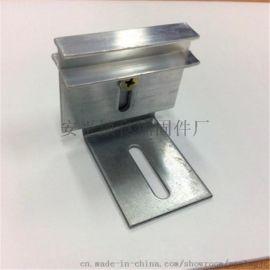 供应一体板专用铝合金干字型挂件