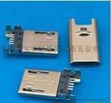 插板MICRO公头四脚dip+SMT或四脚贴片贴板