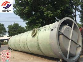 一体化预制泵站价格污水提升一体化泵站