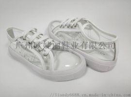 PVC休閒鞋 平底休閒鞋 女裝休閒運動鞋