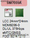 SIM7000A带LTE-FDD模块