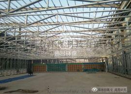 30米×18米×3米大型伸缩喷漆房 质量不错