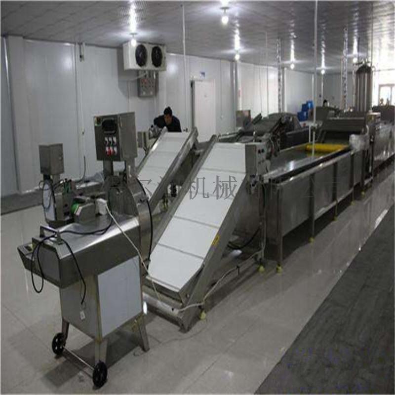 速冻菜加工设备 配送蔬菜清洗机 净菜加工成套设备