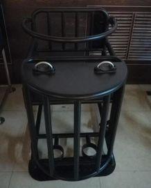 标准方形审讯椅,铁质审讯椅