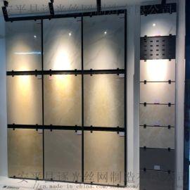 瓷砖展示架地砖洞洞板展示架冲孔板样品货架挂钩可拼接