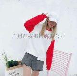 新款韩版连帽大码卫衣女秋冬 长袖字母印花女装上衣