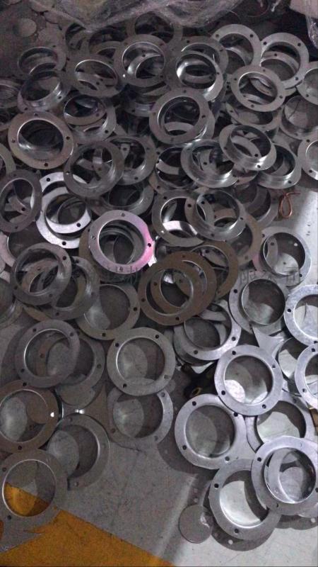 圆法兰连续模具,双工位圆法兰模具