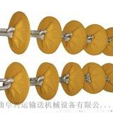 粉末管链输送机新型上料设备防尘 颗粒管链输送机秦皇岛