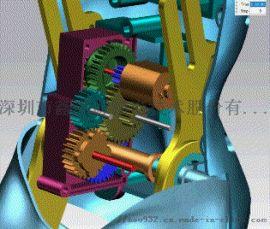 電動產品齒輪箱設計_靜音大扭矩