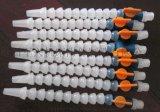 白色塑料冷却管 上等材料精加模具 塑料万向冷却管