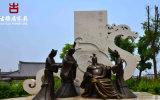 四川雕塑厂家,公园精致仿真人物雕塑定制安装