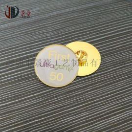 定制徽章印刷滴胶徽章精美电镀花朵徽章活动专用徽章