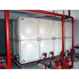 不锈钢消防水箱夹套水箱 玻璃钢水箱不渗漏