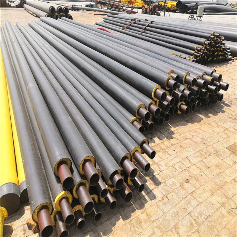 聊城 鑫龍日升 聚氨酯焊接預製保溫管道 硬泡聚氨酯保溫管