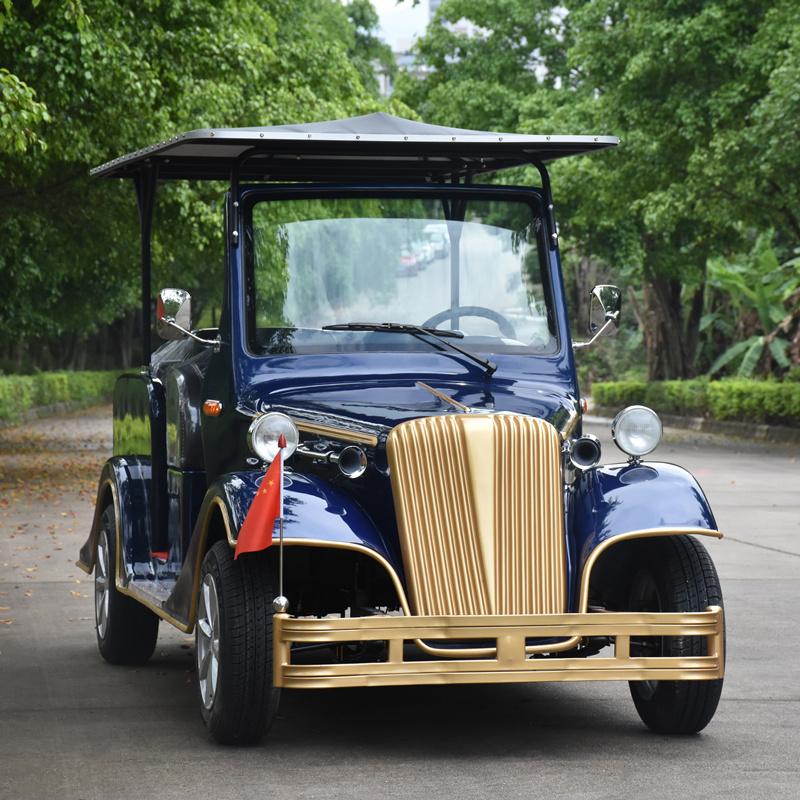 地產樓盤專用電動老爺車 可定製各種顏色
