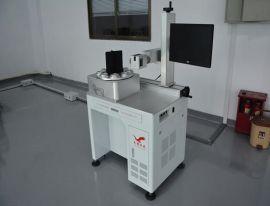 小型金属激光雕刻机 电路板二维码雕刻光纤激光打标机,自动化带转盘