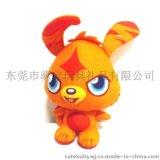 东莞厂家看图定做卡通吉祥物玩偶 定制企业礼品logo礼品娃娃